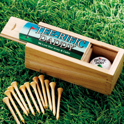 "Personalized ""Tee-rific"" Golf Ball And Tee Box Set"