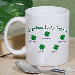 Personalized Lucky Charms Coffee Mug