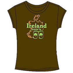 Ireland Dublin' Up Junior T-Shirt