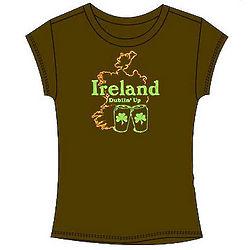 Ireland Dublin' Up Junior T-Shirt