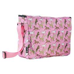 Girl's Horses Laptop Messenger Bag