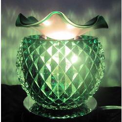 Glass Globe Scented Oil Warmer