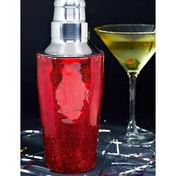 Razzle Dazzle Red Cocktail Shaker