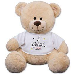 Personalized I Did It Graduation Teddy Bear