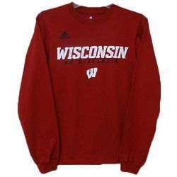 Men's Wisconsin Badgers Long-Sleeve T-Shirt