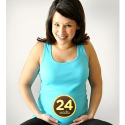 Sticky Bellies for Expectant Mothers Milestone Markers