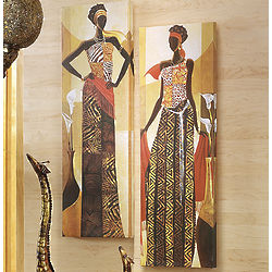 African Princess Canvas Prints