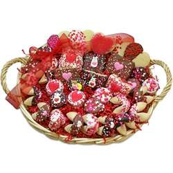 Sweetheart Gourmet Cookies Gift Basket