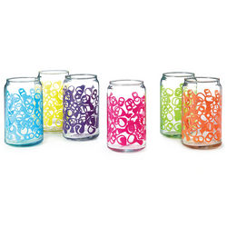 Pop Top Set of Drinking Glasses