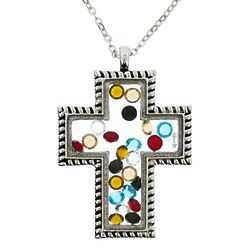 Silver Story of Christ Necklace
