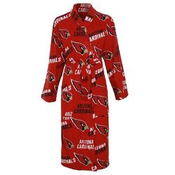 Arizona Cardinals Wildcard Microfleece Bathrobe in Red