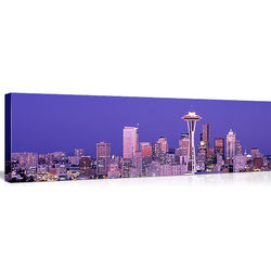 Seattle Skyline Canvas