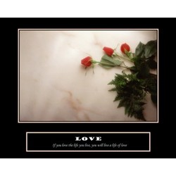 Love Premium Luster Print