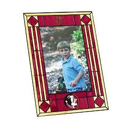 Florida State University Seminoles Art Glass Picture Frame