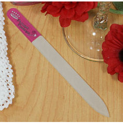 Personalized Princess Glass Nail File