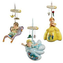 Disney Dreams Come True Christmas Ornaments