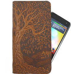 Tree of Life Leather Smartphone Wallet