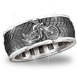 Ride Forever Motorcycle Men's Ring