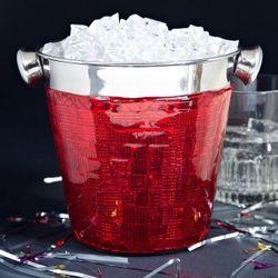 Razzle Dazzle Red Mini Ice Bucket