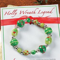 Legend of the Christmas Wreath Bracelets