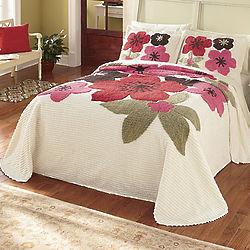Full Size Caprice Chenille Bedspread