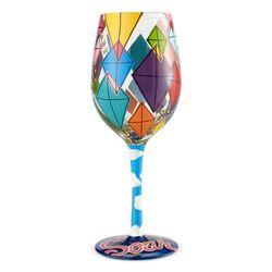 Time to Soar Wine Glass