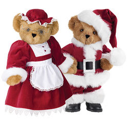 "15"" Santa and Mrs. Claus Set"
