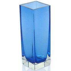 Radiance in Blue Handblown Glass Vase