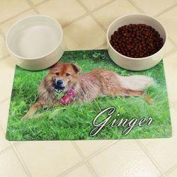 Personalized Pet Bowl Placemat
