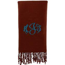 Personalized Brown Pashmina Wrap