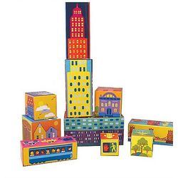 City Toy Stacking Blocks