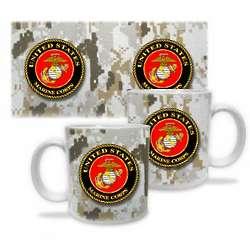 US Marine Corps Digital Desert Mug
