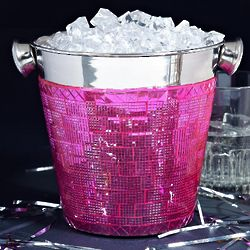Razzle Dazzle Pink Mini Ice Bucket
