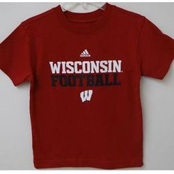 Wisconsin Football Boys T-Shirt