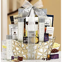 Sparkle and Celebrate Voss Gift Basket