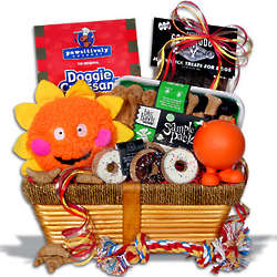 Dog's Gourmet Gift Basket