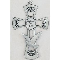 Pewter Confirmed in Christ Cross