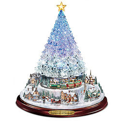 Crystal Tabletop Christmas Tree