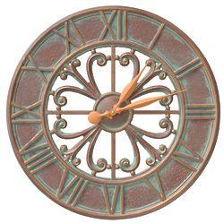 "Villanova 21"" Indoor/Outdoor Wall Clock"