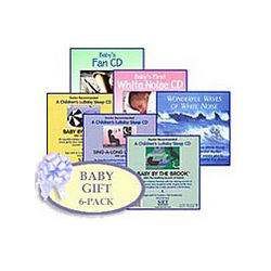 Baby Shower White Noise CD Gift Pack with Gift Card