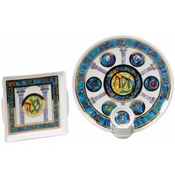 Stained Glass Windows Passover Seder Set