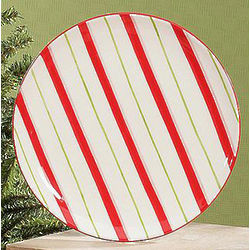 Candy Cane Dessert/Snack Plates