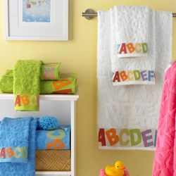 ABC Jacquard Luxury Egyptian Cotton Baby Towels