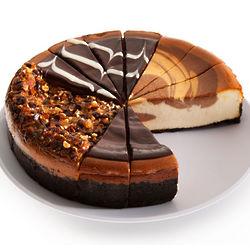 "Chocolate Lovers 9"" Cheesecake Sampler"