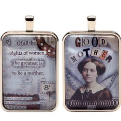 Good Mother Fairies Word Charm Necklace