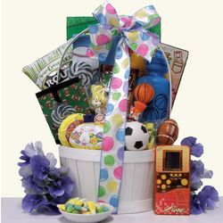 Boy's Easter All Star Gift Basket