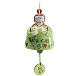 Flower Child Bell Windchime