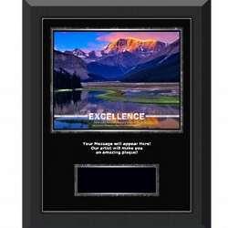 Excellence Mountain Gunmetal Award Plaque