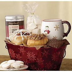 Snowflake Breakfast Gift Tin