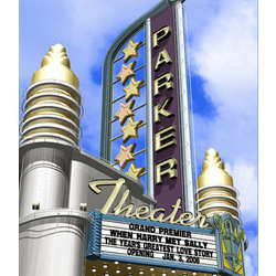 Personalized Day Deco Theatre Sign